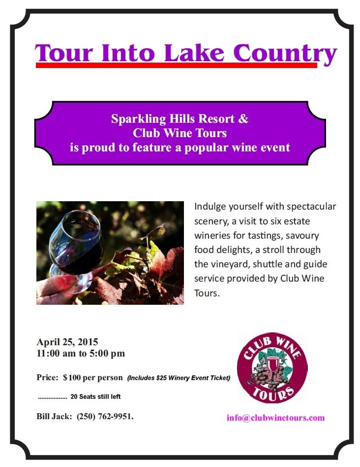 Club Wine Tours____25 April 2015_Taste Lake Country