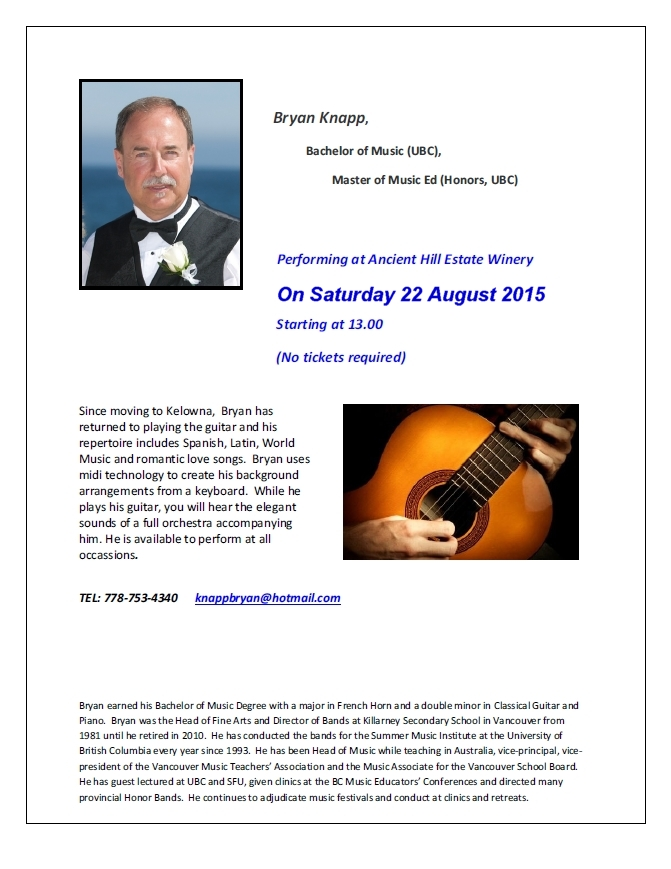 Bryan Knapp at Ancient Hill_22 August 2015