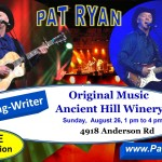 26 Aug 2018 Ancient Hill Pat Ryan